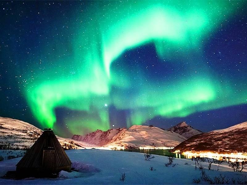 Aurora Boreale: avventura fra