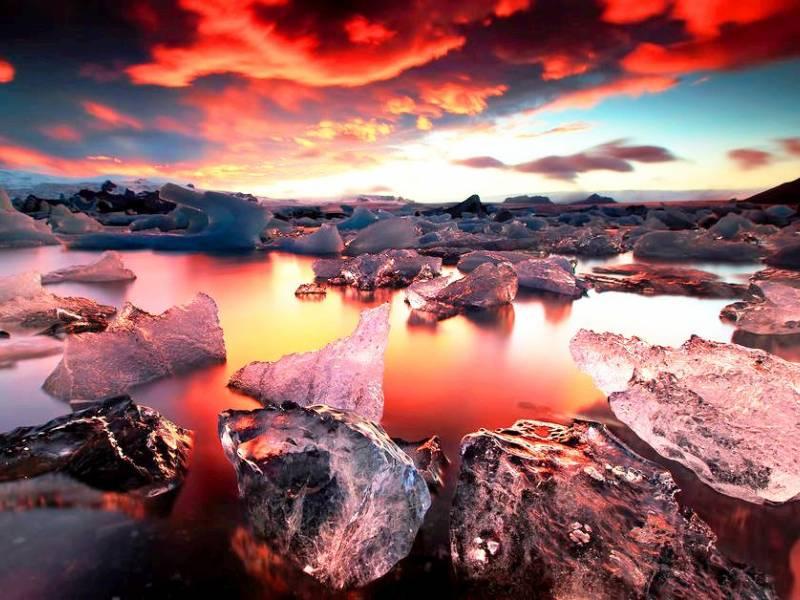 Lava, ghiacci ed Aurore