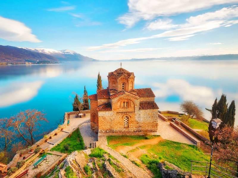 Albania e Lago di Ocrida